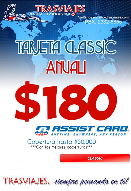 ASSIST CARD CON TRASVIAJES